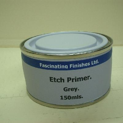 Military Vehicle Paint Acid Etch Primer Grey For Galvanised